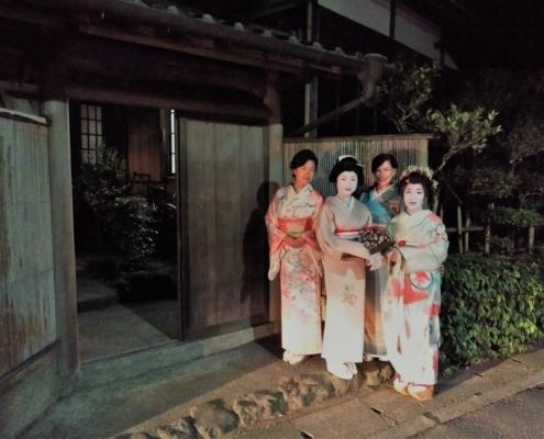 Geisha in Kamakura
