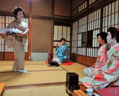 Geisha performance