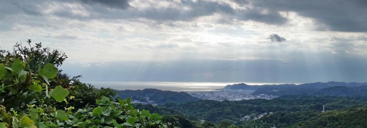 View of Kamakura from Jomyoji