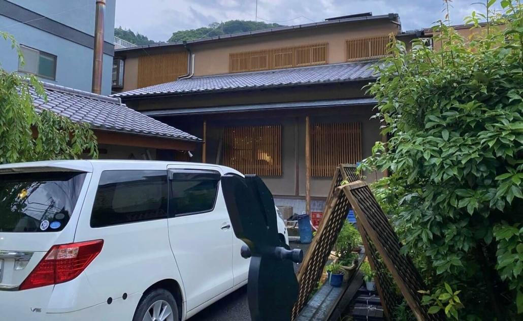 Yugawara ryokan front