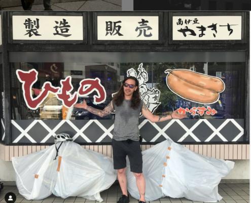 In Shimoda, Shizuoka on a bike trip