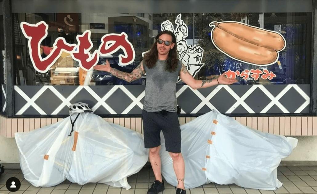 Biking in Shizuoka with Thom