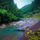 Swimming in the Kuro River