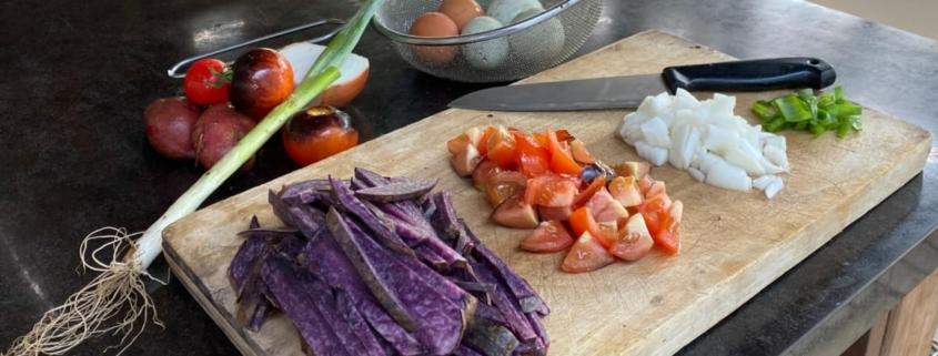 Cooking at Fujino