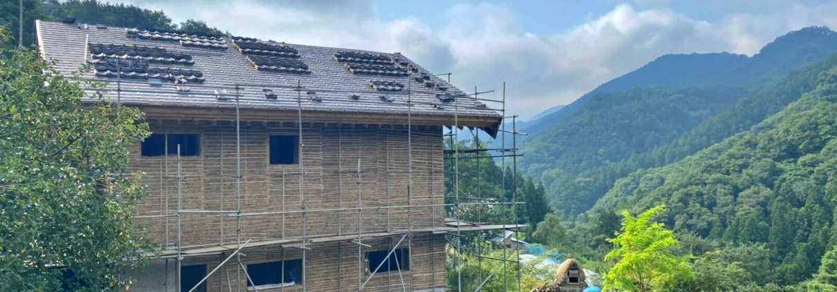 New house in Fujino
