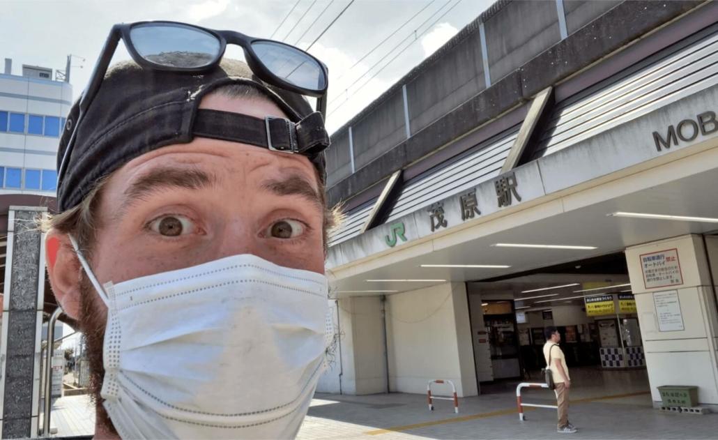 Matt at Mobara Station