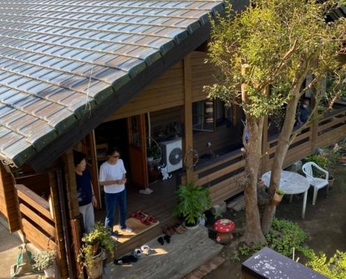 Nagara porch