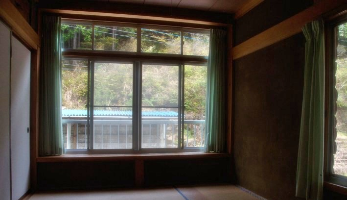 Room at the Earth Hostel in Nikko