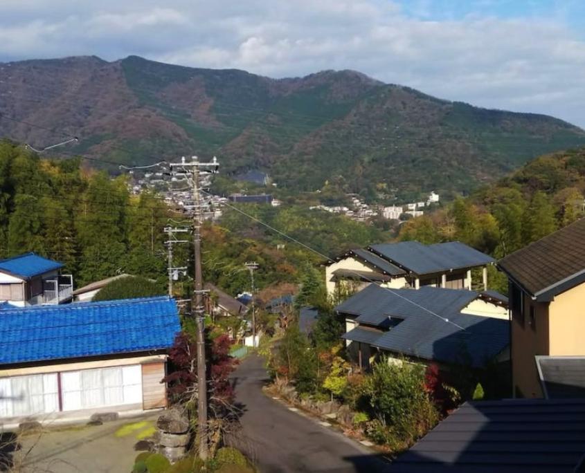 Atami hills at Seseragi no Yado