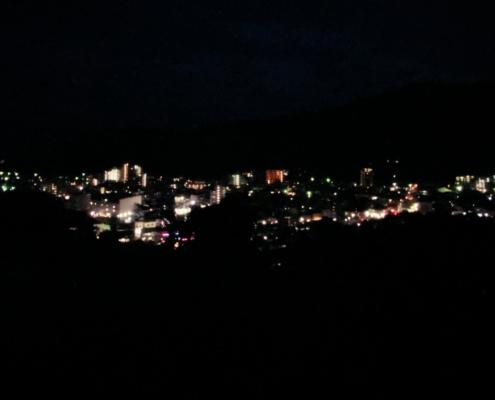 Yugawara at night